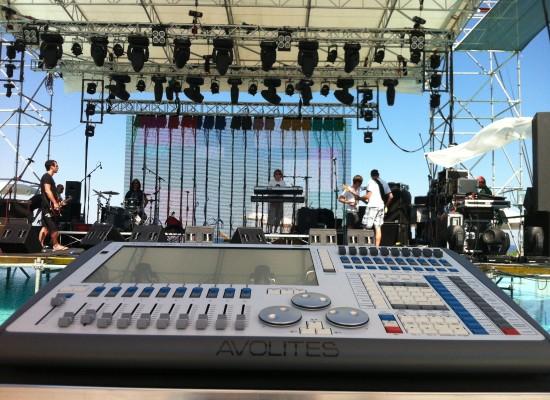 Servizi audio video luci per spettacoli e concerti